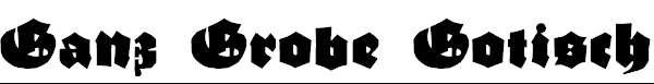 GanzGrobeGotisch-UltraBlack