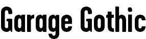 GarageGothicBold