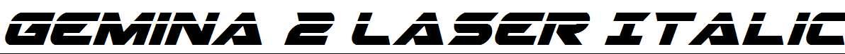 Gemina-2-Laser-Italic