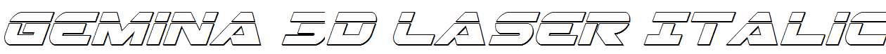 Gemina-3D-Laser-Italic