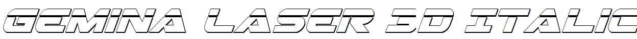 Gemina-Laser-3D-Italic