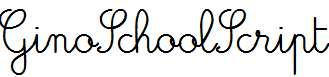 GinoSchoolScript-Bold