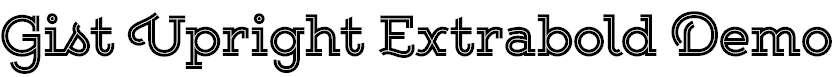 Gist-Upright-Extrabold-Demo