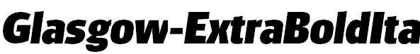Glasgow-ExtraBoldIta