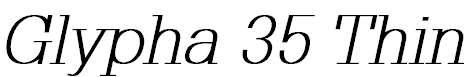 Glypha-ThinOblique