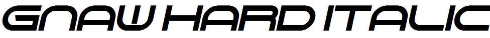 Gnaw-Hard-Italic