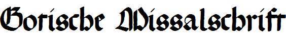 GotischeMissalschrift