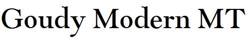 Goudy-Modern-MT