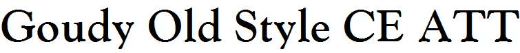 Goudy-Old-Style-CE-ATT-Bold