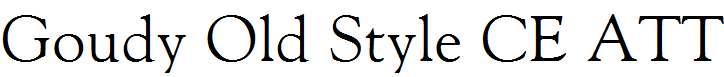 Goudy-Old-Style-CE-ATT
