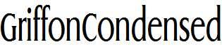 GriffonCondensed-Regular