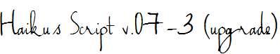 Haiku-s-Script-v.07-3-upgrade-