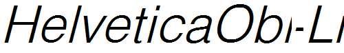 HelveticaObl-Li