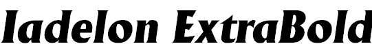 Iadelon-ExtraBold