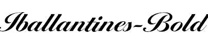 Iballantines-Bold