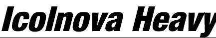 Icolnova-Heavy