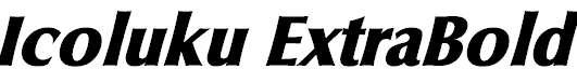 Icoluku-ExtraBold