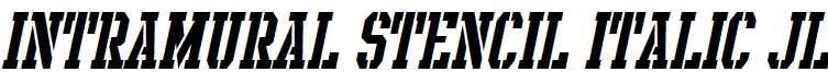 Intramural-Stencil-Italic-JL