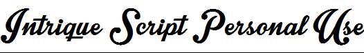 Intrique-Script-Personal-Use