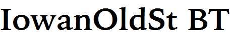 IowanOldSt-BT-Bold