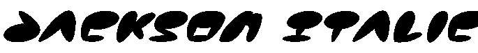 Jackson-Italic