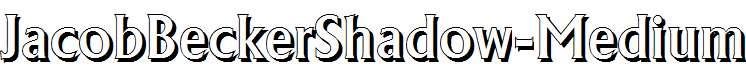 JacobBeckerShadow-Medium-Regular