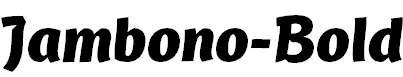 Jambono-Bold