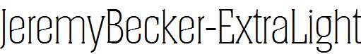 JeremyBecker-ExtraLight