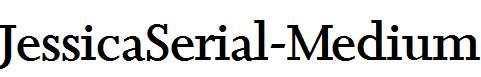 JessicaSerial-Medium-Regular