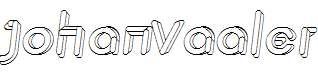 JohanVaaler-Italic
