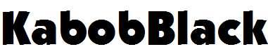 KabobBlack-Regular