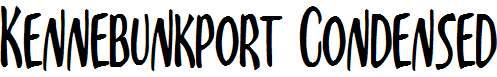 Kennebunkport-Condensed