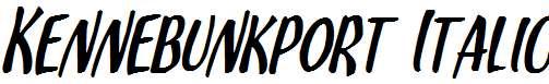 Kennebunkport-Italic