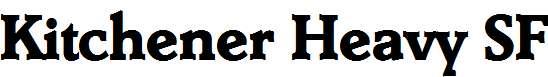 Kitchener-Heavy-SF-Bold