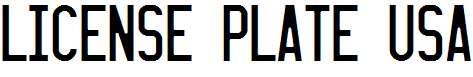 LICENSE-PLATE-USA