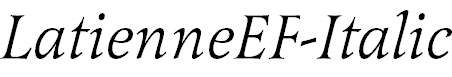LatienneEF-Italic