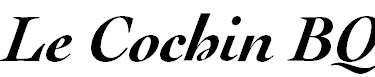 LeCochinBQ-MediumItalic