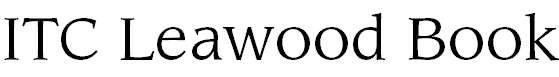 LeawoodITCbyBT-Book