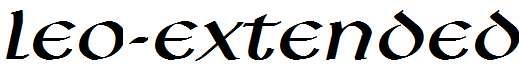 Leo-Extended-Italic-1