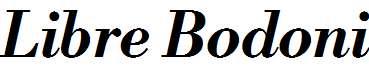 Libre-Bodoni-Bold-Italic