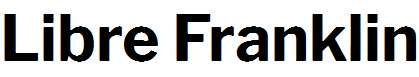 Libre-Franklin-Bold