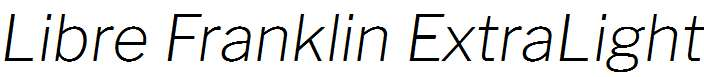 Libre-Franklin-ExtraLight-Italic