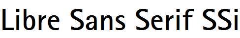 Libre-Sans-Serif-SSi-Bold
