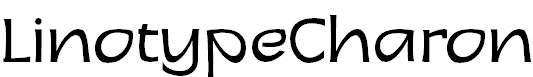 LinotypeCharon-Regular