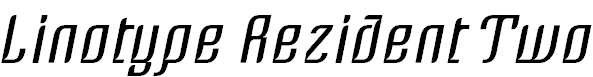 LinotypeRezident-Two