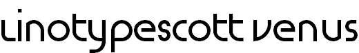 LinotypeScott-Venus-Regular
