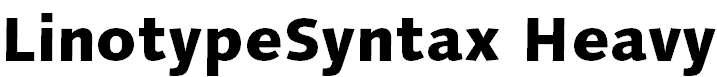 LinotypeSyntax-Heavy