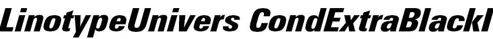 LinotypeUnivers-CondExtraBlackIt