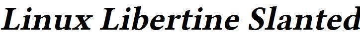 Linux-Libertine-Slanted-Bold