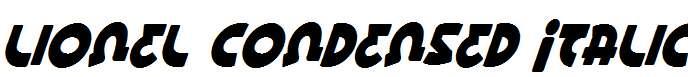 Lionel-Condensed-Italic